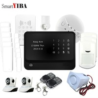 SmartYIBA G90B плюс Аварийная сигнализация wifi gsm приложение управление смарт розетка для бытовой техники камера безопасности Дымовая пожарная за