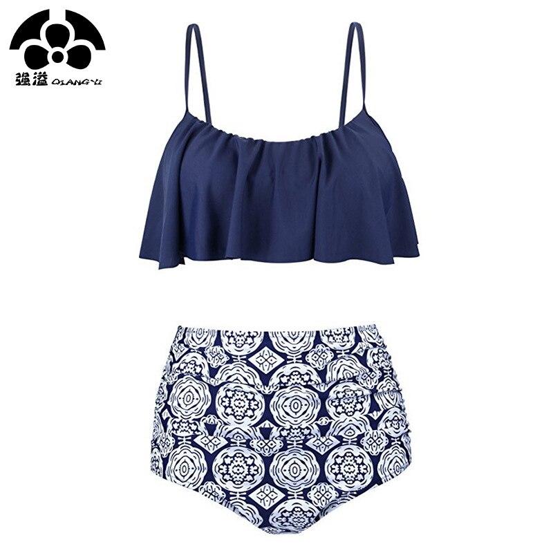 2019 Crop Top Sexy Bikini Set Women Swimsuit Female High Waist Swimwear Women Adjustable Strap Push Up Bathing Suit XXL Beach beach bathing suit beach suitbeach top women - AliExpress