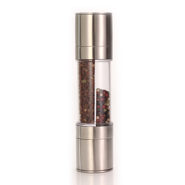 Premium stainless steel grinder with adjustable ceramic