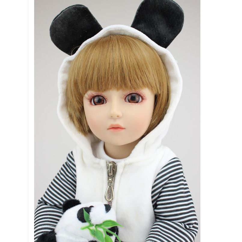 18 Inch Dolls Handmade BJD Doll Reborn Babies Toys for Children,45CM Jointed Plastic Toy Dolls for Girls Birthday Gifts Juguetes 18 inch dolls handmade bjd doll reborn babies toys for children 45cm jointed plastic toy dolls for girls birthday gifts juguetes