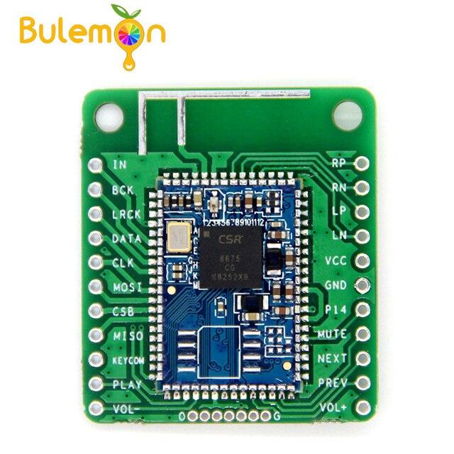 CSR8675 Bluetooth V5.0 נמוך כוח Bluetooth אודיו מודול APTX HD Lossless דחיסת I2S סיבי SPDIF