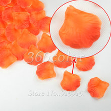 buy orange silk rose petals and get free shipping on aliexpress com