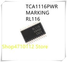 NEW 10PCS/LOT TCA1116PWR  TCA1116 MARKING RL116 TSSOP-24 IC