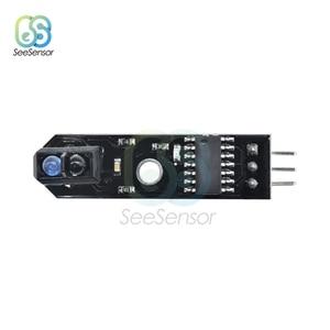 Image 5 - 10Pcs DC 5V IR Infrarood Line Tracker Sensor Track Follower Sensor TCRT5000 Obstakel vermijden Voor Arduino AVR ARM PIC