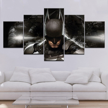 Wall decor Canvas Picture Batman Modular Poster 5 Pieces Art Home Decor Frame HD Printed canvas painting picture Artwork