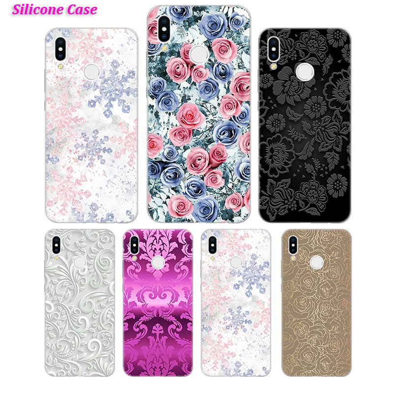 Silicone Case Black Dream Catcher for Huawei P Smart 2019 Plus P30 P20 P10 P9 P8 Lite Mate 20 10 Pro Lite Nova 3i Cover in Fitted Cases from Cellphones Telecommunications