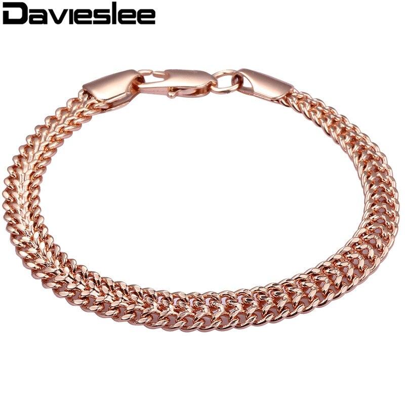 7mm Helix Bismark Link Chain Mens Chain Womens Bracelet ...