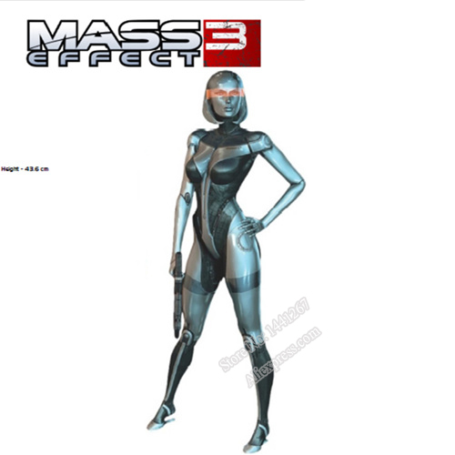 DIY Mass Effect Sexy Beauty Robot EDI Character Paper Model