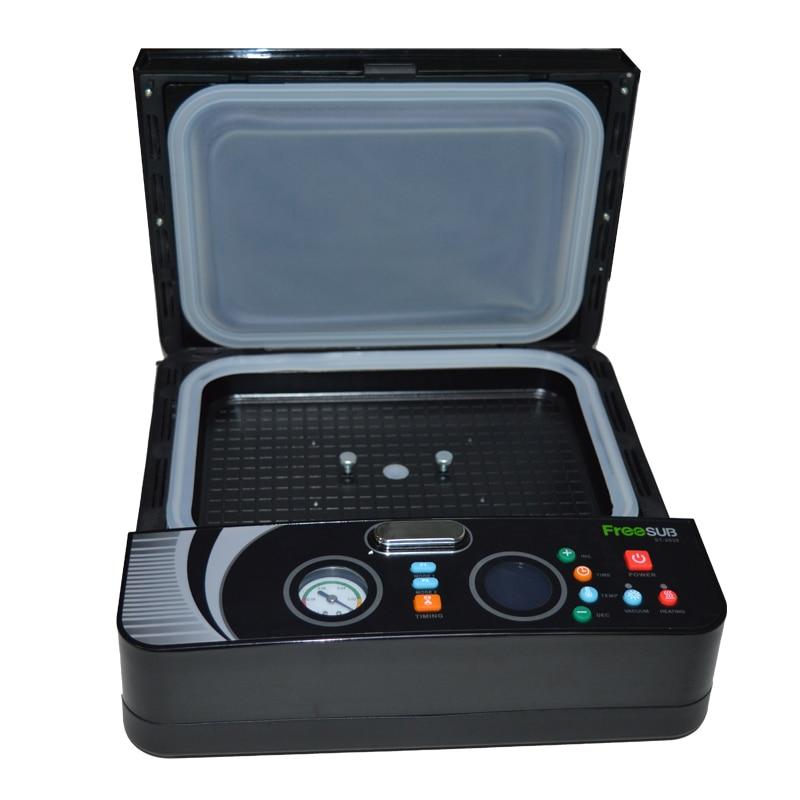 4 шт. ST 2030 3d вакуумная Сублимация/мини цифровая теплопередача/термопресс машина для телефона чехол печать обложек - 2