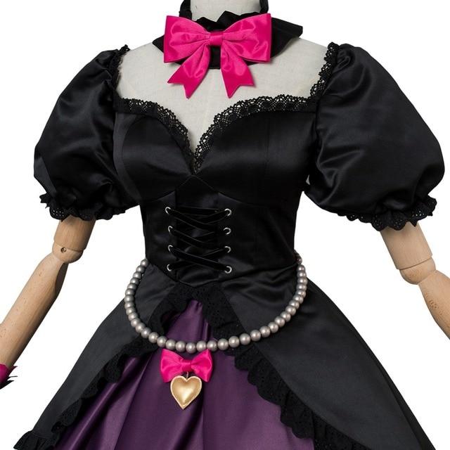 OW Game Cosplay Hana Song  DVA Cosplay Costume OW DVA Black Cat Officer Dress Cosplay Costume Halloween Carnival Cosplay Costum 5