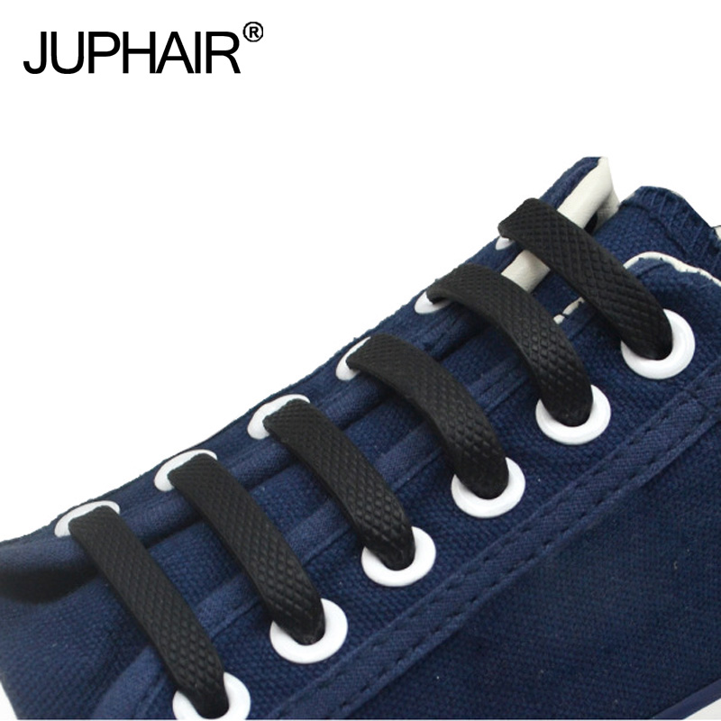 JUP3 Packs 48 Roots Lace Elastic Shoe Laces Sneaker Women Men Silicone Laces Silicone Shoelaces All Sneakers Fit Strap Shoelace jup 12 set 176 roots new fashion unisex adults kids women racing sport men laces elastic silicone shoe lace all straples sneaker