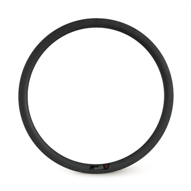 Cheap 700C U shape tubeless 38mm clincher 25mm wide carbon rims for racing road bicycle