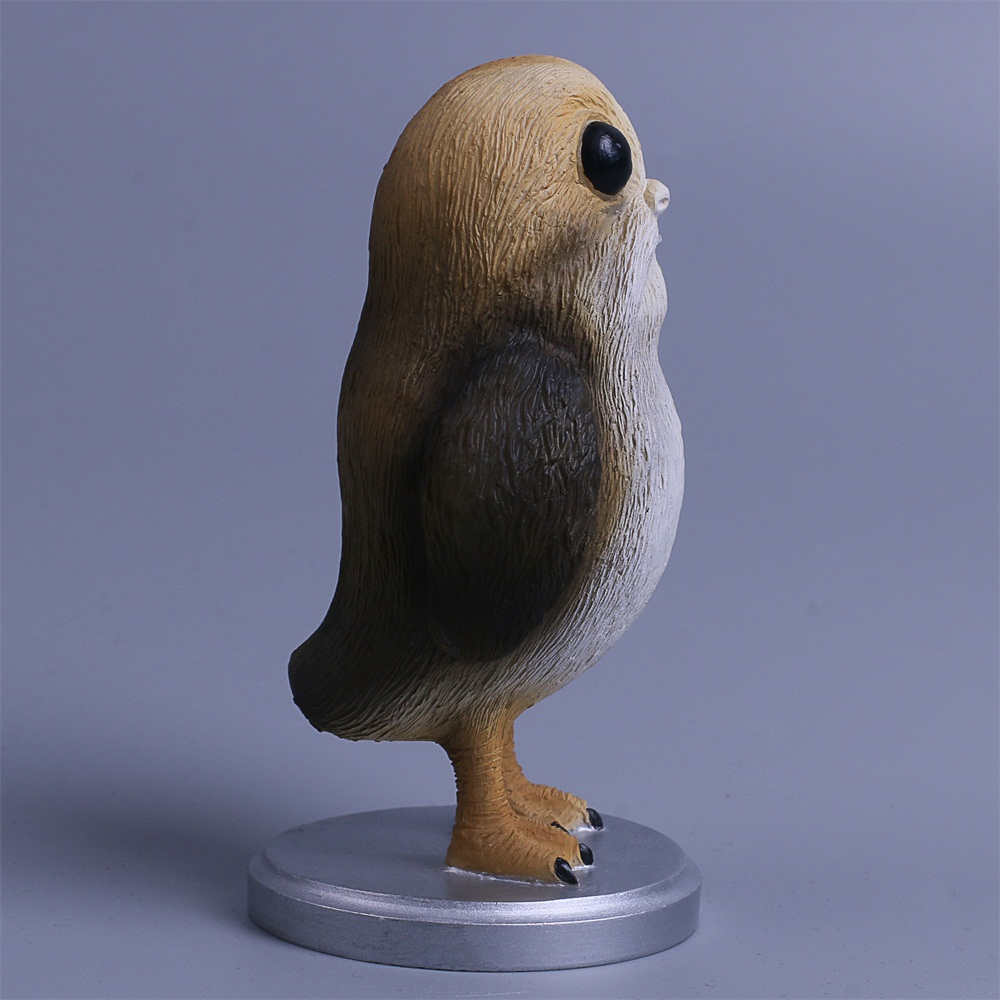 Star Wars The Last Jedi Porg Action Figure Cosplay Porg Toy Doll Christmas Gift Resin (7)