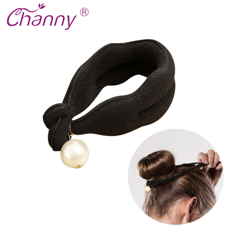 Channy 1Pc Braider Foam Fashion Women Bun Maker Hair Curler Hairstyle Hairstyle Twist Magic DIY Tool Beauty Tools