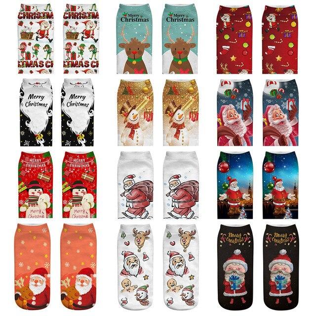 Aliexpress.com: Comprar Nuevo color de moda cómoda Navidad calcetín ...