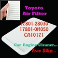17801-28030 17801-0H050 CA10171 Engine Air Filter for Toyota Camry Venza
