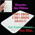 17801-28030 17801-0H050 CA10171 filtro de aire del motor para Toyota Camry Venza