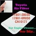 17801 - 28030 17801-0H050 CA10171 motor filtro de ar para Toyota Camry Venza
