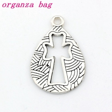 Hollow Angel Charms Pendants alloy Jewelry DIY Fit Bracelets Necklace Earrings 100Pcs/lot Antique silver 19.5x30.5mm A-487