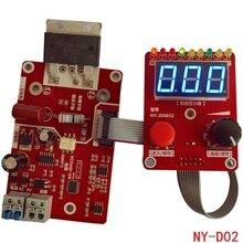 NY-D02 двойная точечная Импульсная Сварка машина кодировщик времени цифра контрольная панель модуля пластина регулируемый ток управления Лер