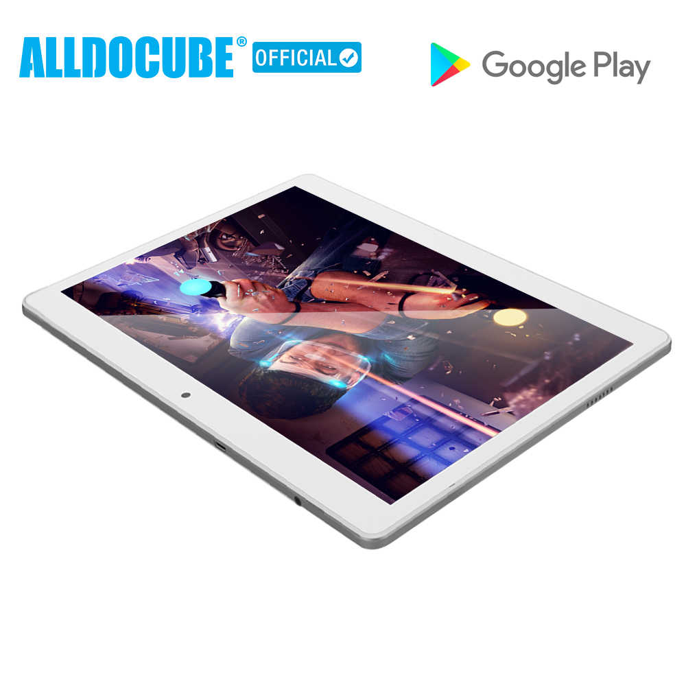 ALLDOCUBE M5 10.1 Inch 4G Phone Call Tablet PC 2560*1600 IPS Android 8.0 MTK X20 Deca core 4GB RAM 64GB ROM 5MP GPS Dual WIFI