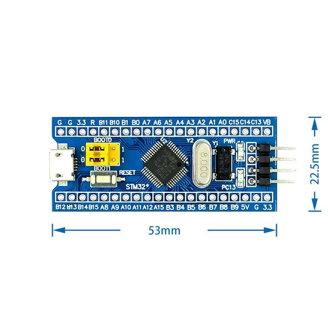 CKS32F103C8T6 STM32F103C8T6 ramię STM32 minimalny System płyta modułu rozwojowego dla