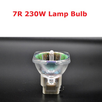 Fast Shipping 230W Lamp For Stage Moving Head Lights Scan Lamp Bulb 230W MSD 7R Platinum Metal Halogen Lamps Follow Spot Lamp