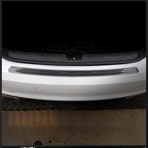 Image 5 - Carbon Fiber Rubber Moulding Strip Soft Black Trim Bumper Strip DIY Door Sill Protector Edge Guard Car Stickers Car Styling 1M
