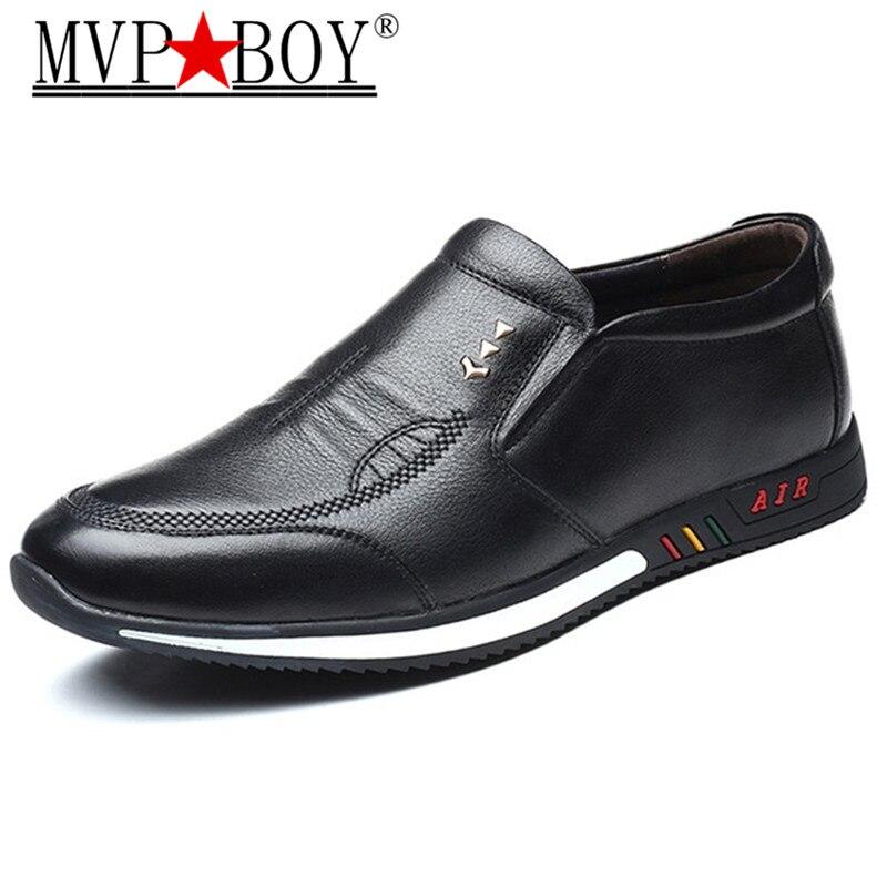 MVP MENINO Mocassins Dos Homens Altura Crescente Lace-up Dos Homens Sapatos Casuais Homens Elevador Calçados Funcionais
