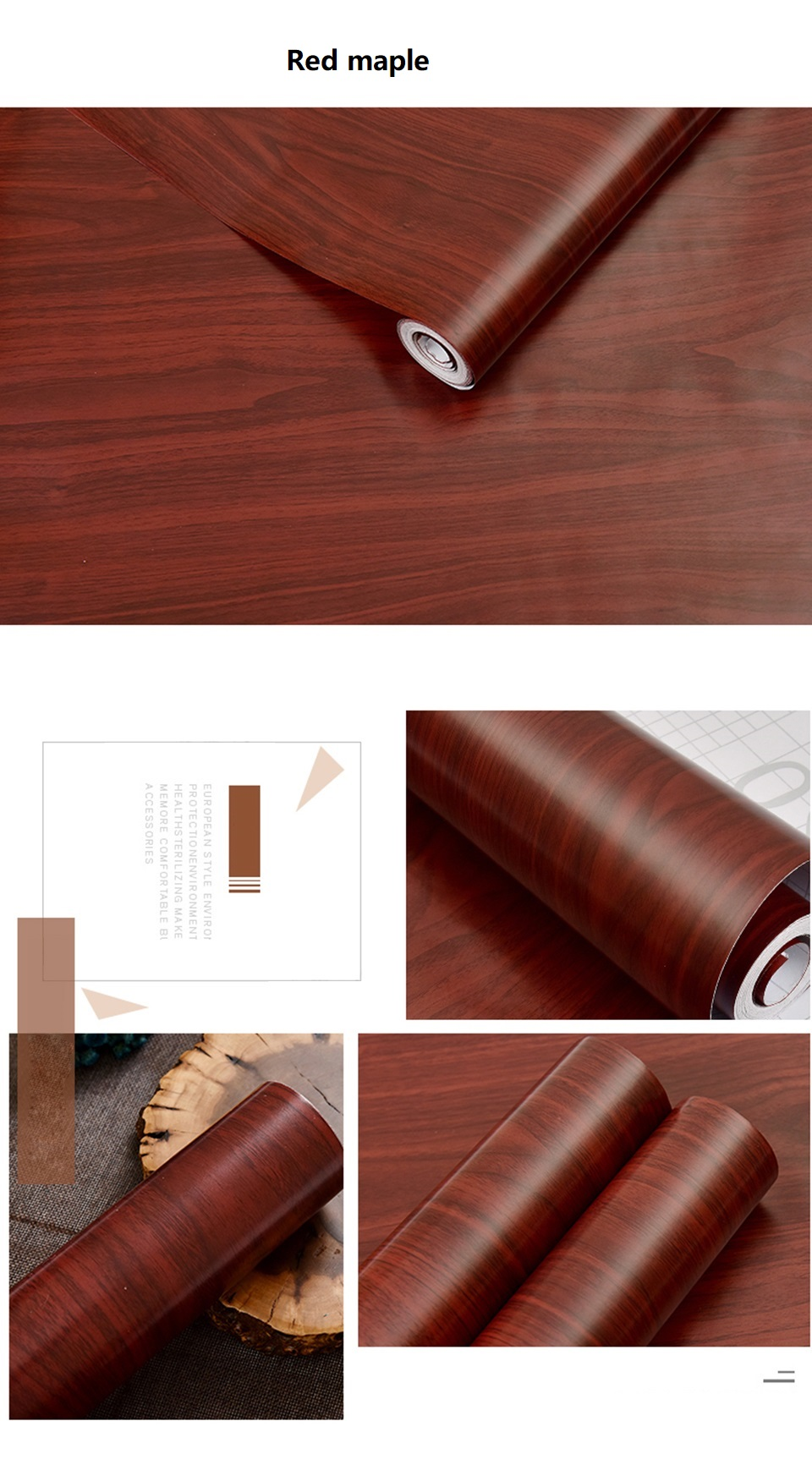 PVC Vinyl Wood Grain Contact Paper for Kitchen Cabinets Table Sticker Waterproof Self adhesive Wallpaper Phone Case Stickers HTB1Gp30b8jTBKNjSZFDq6zVgVXaC