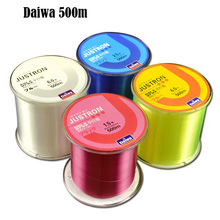 Daiwa 500m Nylon Fishing Line Durable Monofilament Strong Quality Color Nylon Fishing Lines 4 Colors 0.4 to 8.0