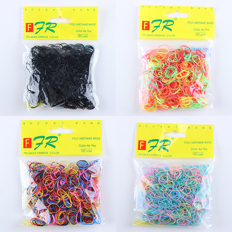 Wholesale 1000PCS/Lot Baby Girls Ponytail Holder Ring Elastic Hair Bands Disposable Rubber Bands Tie Gum Kids Hair Accessories стоимость