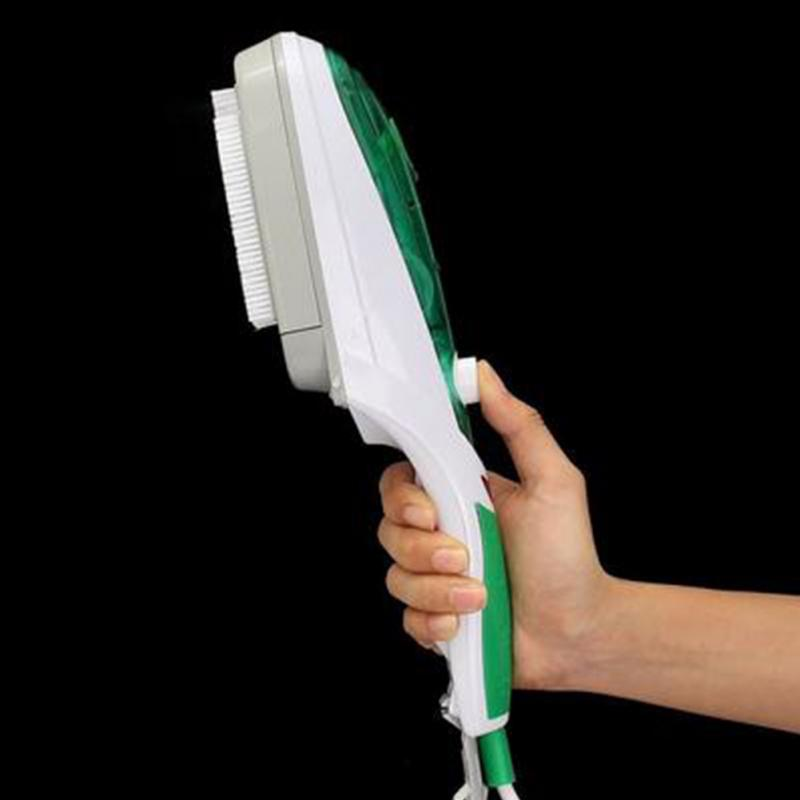 Portable Handhold Fabric Laundry Cloth Wrinkle Brush Steamer Travel Convenient Electric Iron Steamer Eliminate Wrinkles Quickly in Ironing Boards from Home Garden