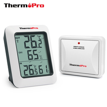 ThermoPro TP60 60M Wireless Digital Weather Station Hygrometer Indoor Outdoor Thermometer with Temperature Gauge Humidity Meter
