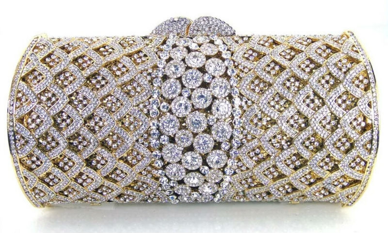 Wedding White Crystal Clutches Promotion-Shop for Promotional ...