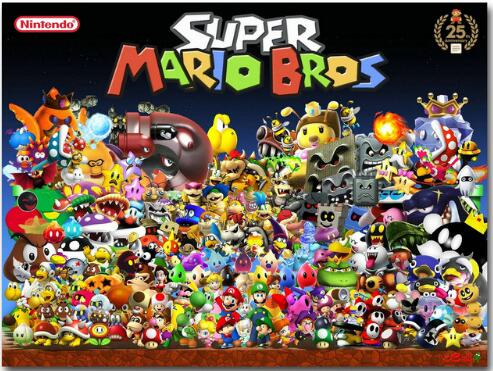 Super Smash Bros Ultimate Video Game Art Silk Canvas Poster 13x20 24x36 inch