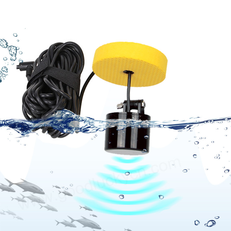 Lucky Sonar transducer 328feet 100m water depth fish sonar cable transducer sonar fish sonar