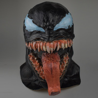 Venom Mask Spider Man Comic Inspired Cosplay One Size For Adult 1