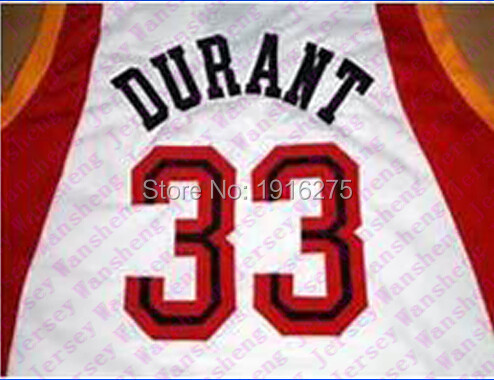 935df2c12  33 Kevin Durant McDONALD S ALL AMERICAN jersey basketball jerseys for red  white blue man sewing school of McDonalds Jerseys-in Basketball Jerseys  from ...