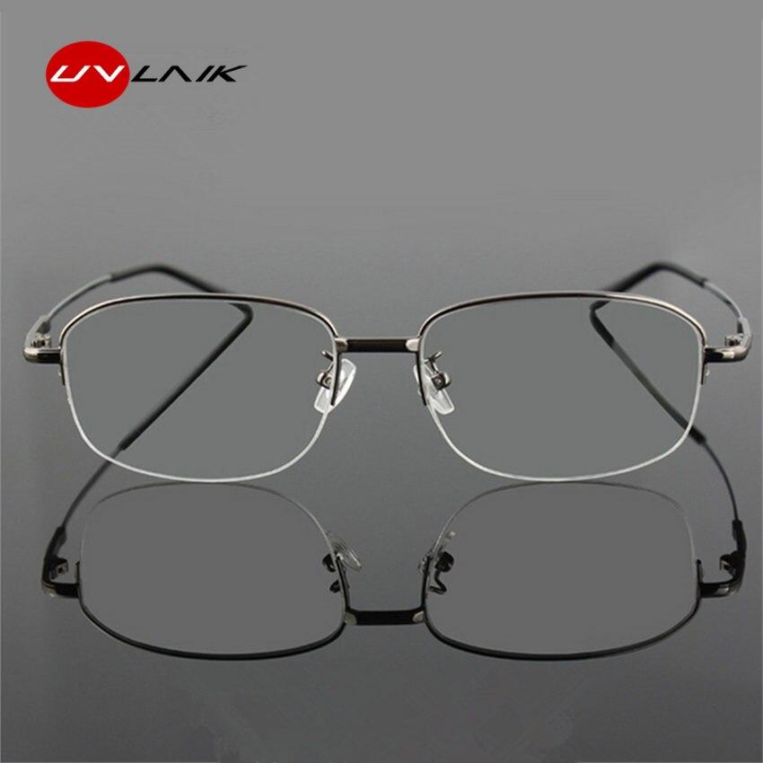 Neue Ankunft Speicher Titan Brille Halb Rahmen Optische Brillen ...
