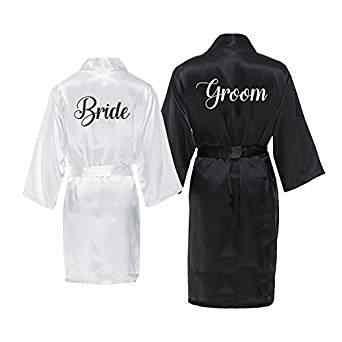 אישית חתונת הכלה חתן הלבשה תחתונה סאטן משי פיג 'מה רווקות גלימות קימונו שמלות מתנות