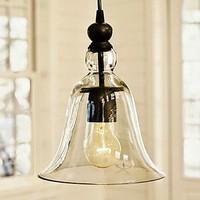 60 watt Edison Loft Stil Vintage Lampe Industrielle Anhänger Leuchten mit antike Glas Schatten Gabe Licht Lamparas-in Pendelleuchten aus Licht & Beleuchtung bei
