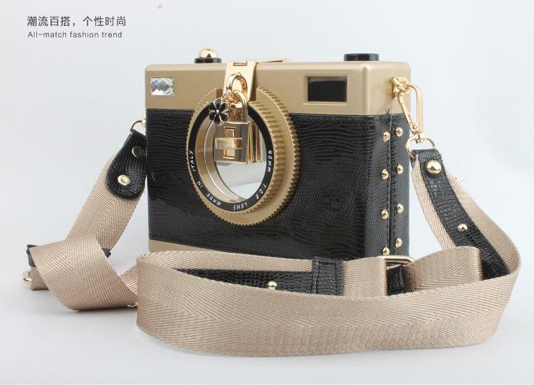 2016 été nouveau sac à main sac personnalité appareil photo forme sac à bandoulière filles mode chaîne sac femme Messenger sacs