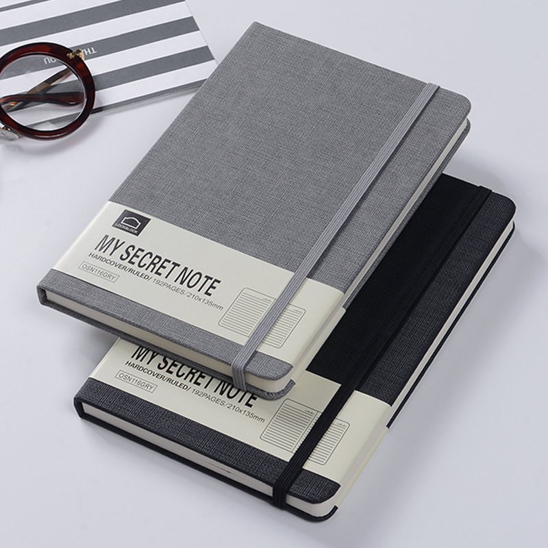 BENZI My Secret Note Series Notebook A5 Creative Vintage Strap Notepad 1PCS