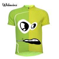 מותג מקורי widewins לבן הכחול אופניים אופני הרי חולצה שרוול קצר רכיבה על אופניים ג 'רזי Ciclismo Ropa 5127