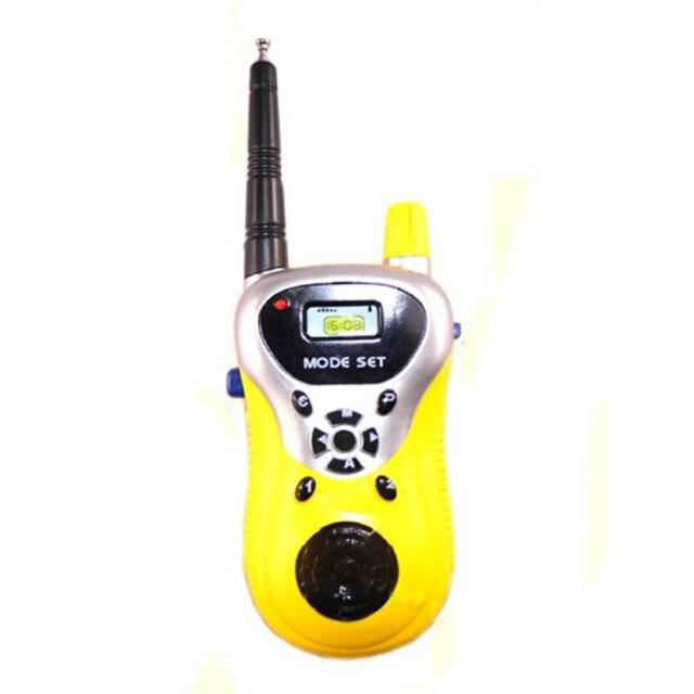 2Pcs Walkie Talkie for Children Electronic Toys Portable Two Way Radio Set