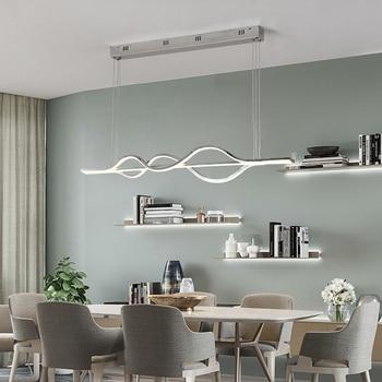 Nordic Beleuchtung Moderne LED Anhänger Lichter Für Küche esszimmer glanz  pendente Hängen Decke Lampe deco maison halat avize