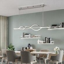 Nordic освещение современный светодиодный подвесные светильники для Кухня столовая блеск pendente висячая Потолочная люстра Декор для дома халат avize