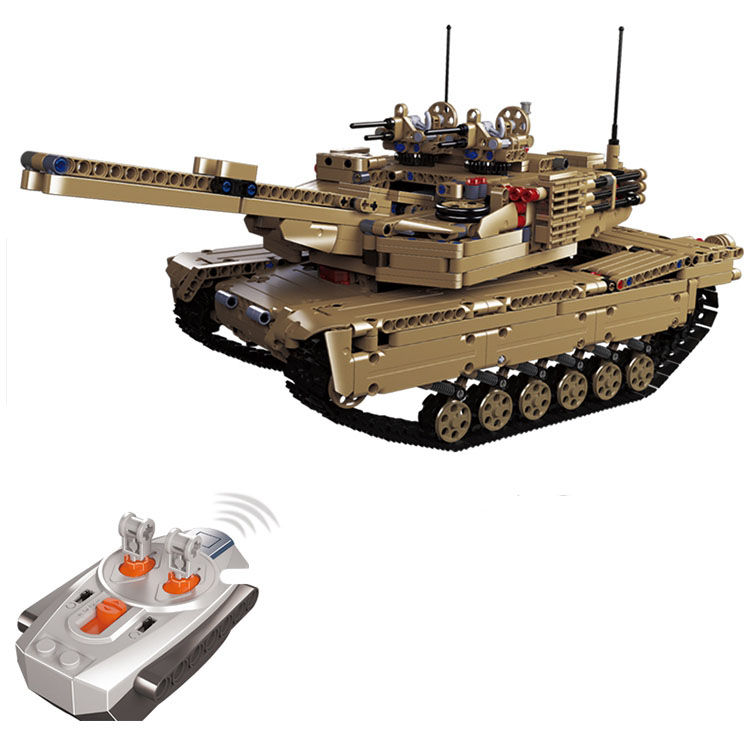 lepin  20070 1572Pcs Military series Remote control tank car Blocks Set  Bricks Toys For Children Gift Education War II military hummer rc tank building blocks remote control toys for boys weapon army rc car kids toy gift bricks compatible lepin