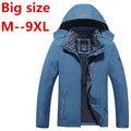 6X 8XL Зима мужчины куртки тепловой jaqueta толстые куртки пальто мужчины куртки и пиджаки Водонепроницаемый Ветрозащитный